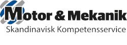 Skandinavisk Kompetens Service Motor & Mekanik – Rekrytering till tung industrin Logotyp